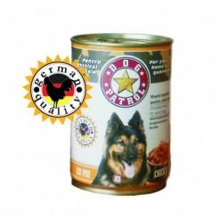 Hrana umeda pentru caini Dog Patrol cu pui 1240 g